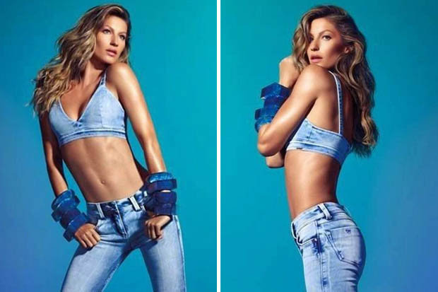 Gisele Bündchen Can't Stop Wearing These Retro Jeans