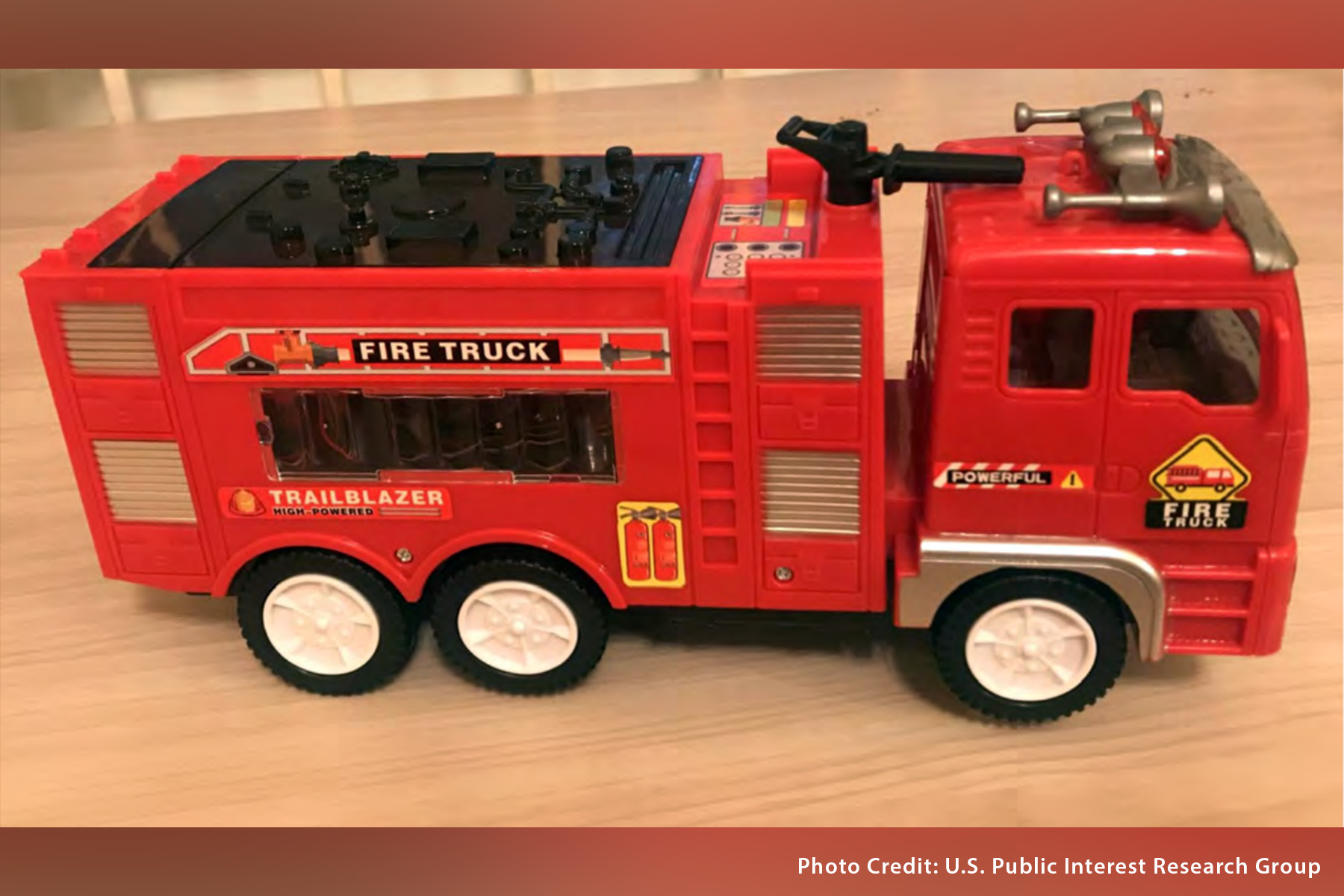 Annual Report Highlights Dangerous Toys