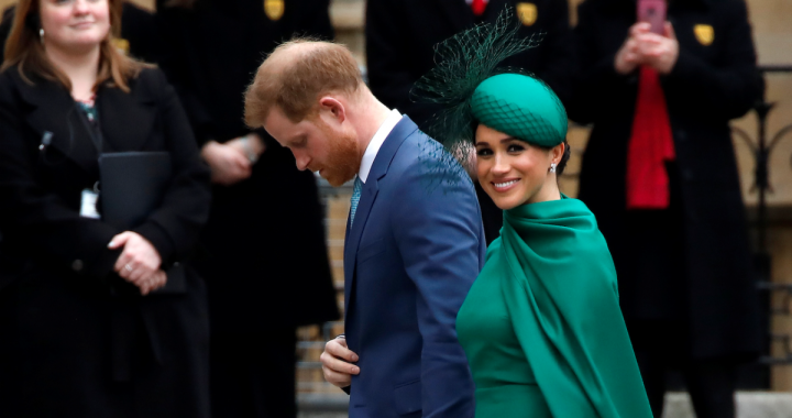 Meghan Markle Wore A Thing: Emilia Wickstead Cape Dress Edition